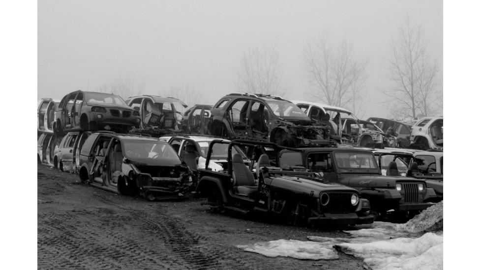 Douce bruine au cimetière, cours Montréal-Est 2012